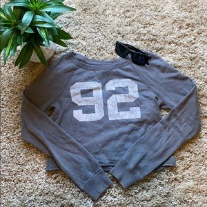 Abercrombie & Fitch Crop Top Sweater